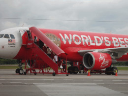The cheapest airbus -AirAsia