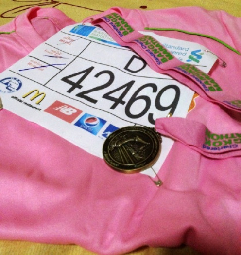 Join a running event!
