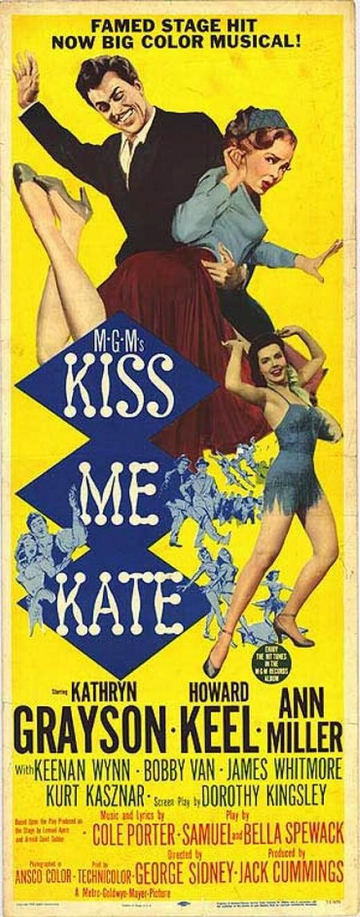 Kiss Me Kate (1953) poster