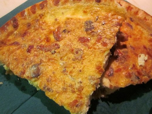 Quiche Wedges