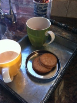 English Tea with some cookies