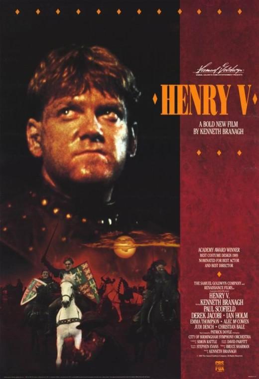 Henry V (1989) poster