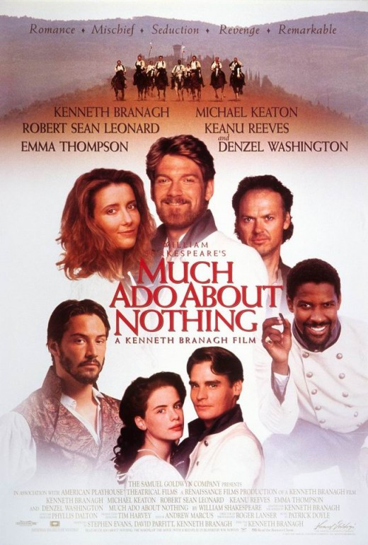 Much Ado About Nothing (1993) poster