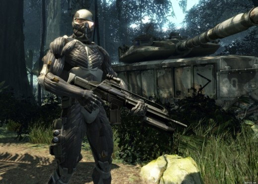 Crysis :) some amazing graphics and A.I in this game