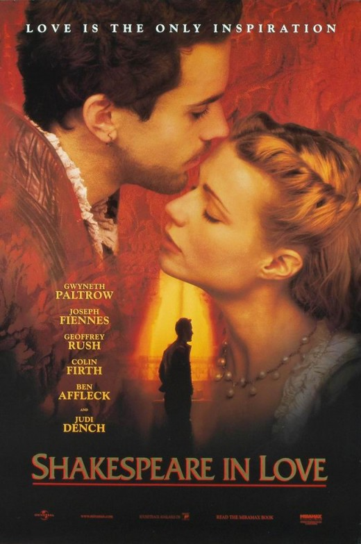 Shakespeare in Love (1998) poster