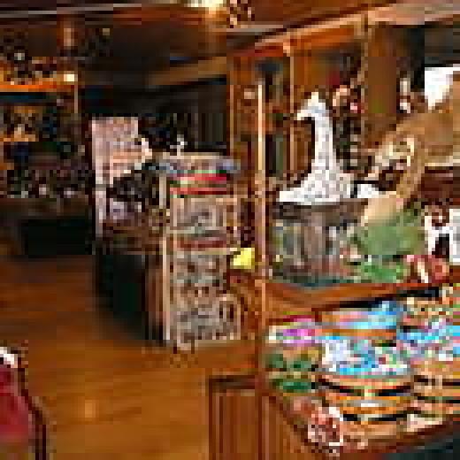 The gift shop at Black Oak