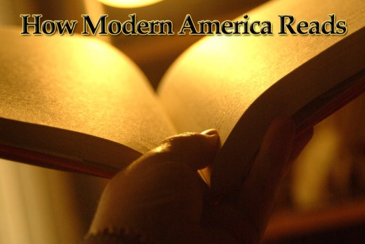 Reading by soft light has a traditional feel. Can eBooks bring a warm feeling to modern America's reading trends?