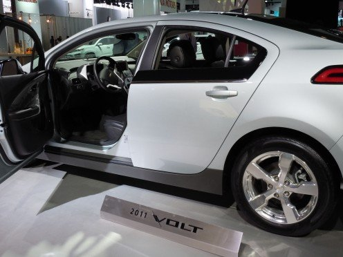 Chevy Volt is a Plug-in Electric Hybrid Vehicle