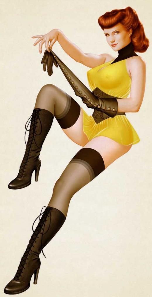 Sally Jupiter Silk Spectre Costume