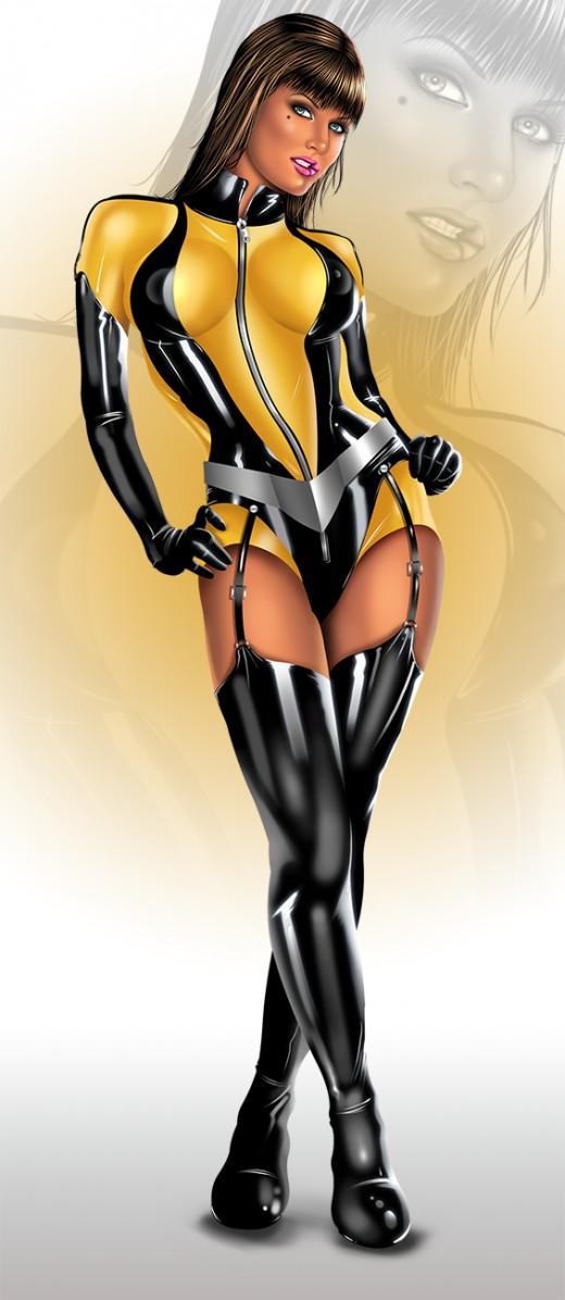 Laurel Juspeczy Silk Spectre II Costume