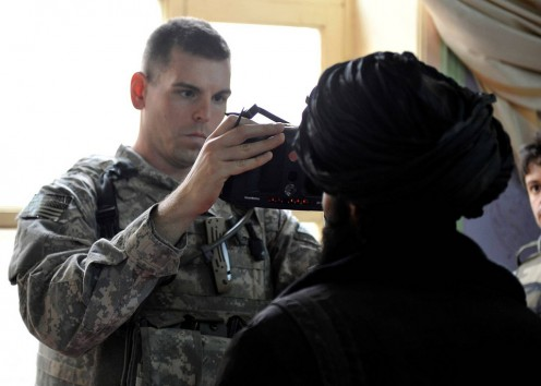 Biometric Identification can help with military operations