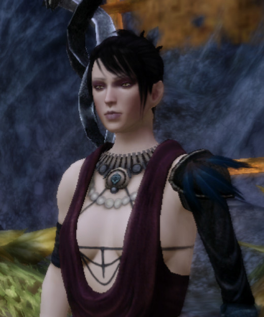 Morrigan of Dragon Age: Origins