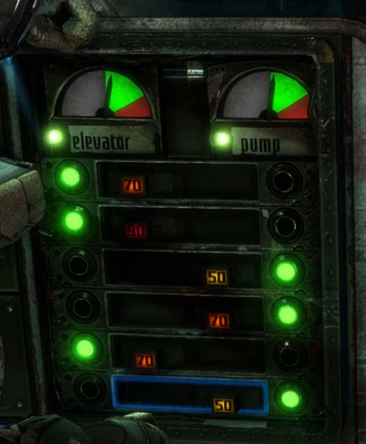 Dead Space 3 Valve Control Panel in Biology Lab needed to release the gas when the button is pressed.