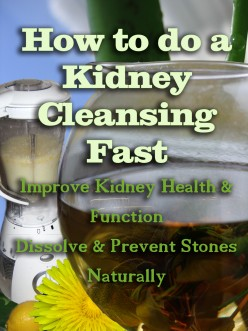How to Do a Kidney Cleansing Fast
