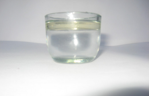 Glass with Oil