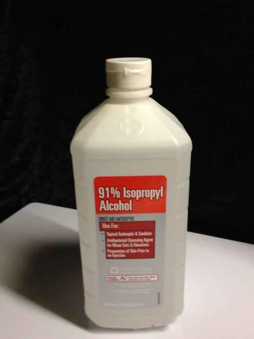 91% isopropyl alcohol