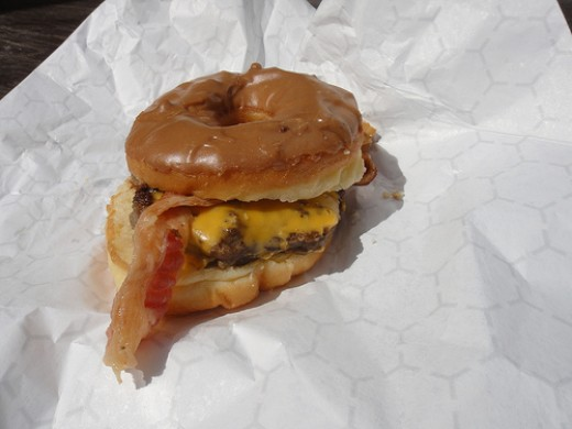 Doughnut Burger!