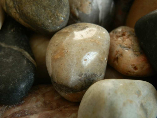 these pebbles shine!