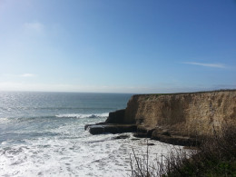 Rustic, unspoiled beauty of Davenport Cliffs in Northern California