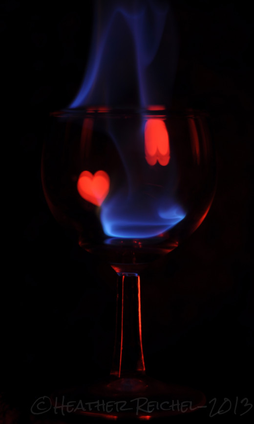 wineglass with plain black background using the soft box symbol app to create a reflection