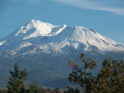 Mt Shasta Mountain Obsidian Glass and Other Wonders
