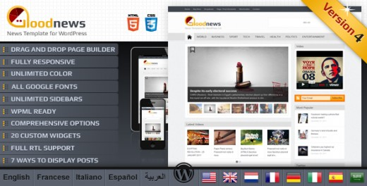 Good News Premium Responsive Theme