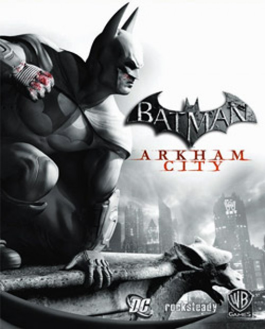 Batman Arkham City Game Cover