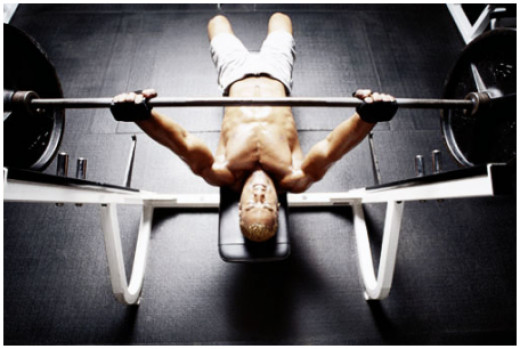 Traditional 5 by 5 strength training is a popular method for someone who wants to move more weight off their chest. However, adding a high-rep set at the end of each exercise have been proved to further it's strength building effects.