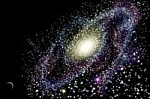 we live in a galaxy shared with many other stars so we are never alone