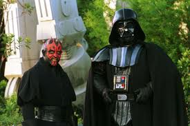 In the Star Wars story Darth Maul and then Darth Vader were villains that good part of the force had to battle but...