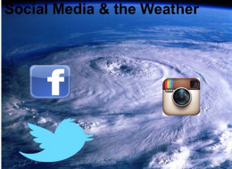 Experiencing the weather through the lens of everyone via social media!