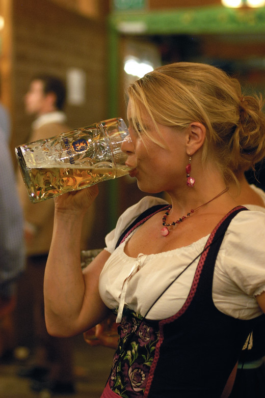 Attend an Oktoberfest in Texas, a great vacation idea.