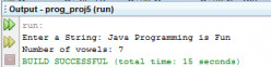 Count the Number of Vowels in Java String