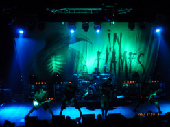 In Flames at the Revolution Live Ft. Lauderdale Florida 02/02/13