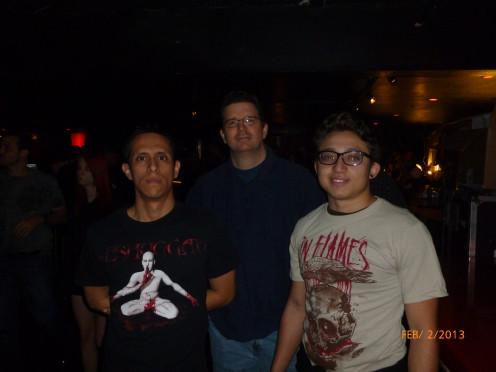 Mau, Mr. X,, and Mike.