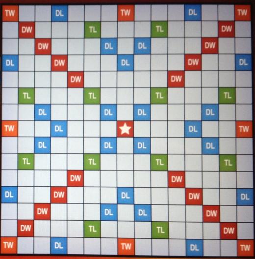 Blank Scrabble Board Empty Scrabble Board More of