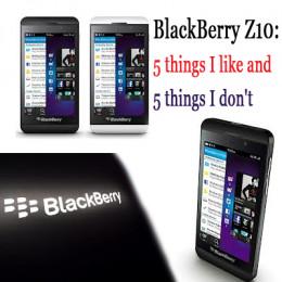 BlackBerry z10 Smartphone