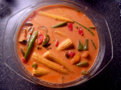 Thai recipe - Thai cuisine - Thai red curry recipe made from paste