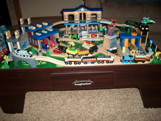 Imaginarium City Central Train Table Review | HubPages