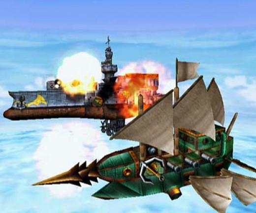 Airship Battle