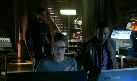 The Arrow Squad plans a trap!