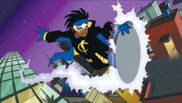 Image from Static Shock animated TV series courtesy of Warner Bros. and Dwayne McDuffie