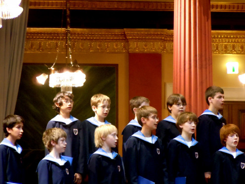 Vienna Boys Choir Concert. Musikverein. Vienna, Austria. (June 25, 2010).