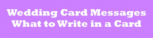 Message To Write On Wedding Gift Card : Wedding Card Messages: Wishes to Write in a Card