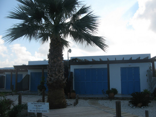 Latchi beach front bungalows