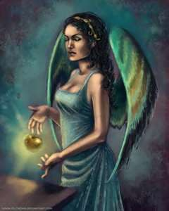 Greek Goddess Eris/Roman Goddess Discordia