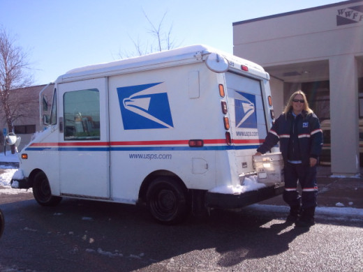 The snow didn't stop Bobbie from delivering the mail. She has worked for the USPS for 30+ years. Thank you, Bobbie!