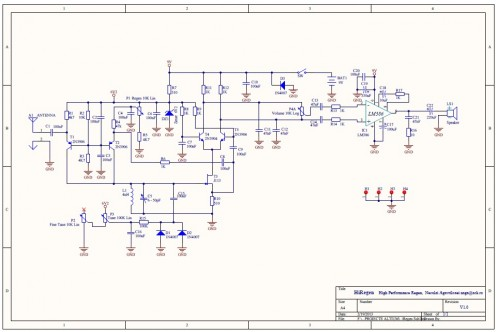 Fig. 1 Schematic of the high-performance regenerative receiver (HiRegen)
