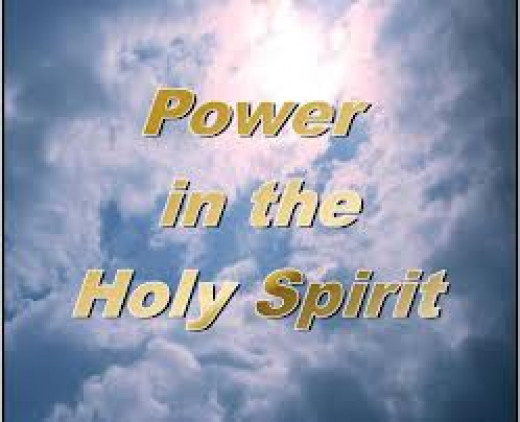 There are reasons to believe that there is power to give life to every living thing in the Holy spirit of God of the universe, and this is the power that gives life to every living thing of earth.