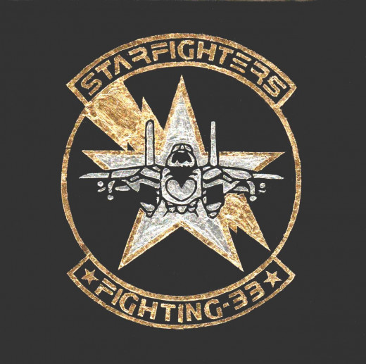 Starfighters Fighting 33 military patch replica